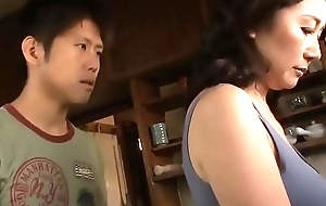 Asian MILF Cant Resist Say no to Stepson